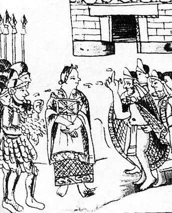 Image From Fray Bernardino de Sahagún, The Florentine Codex (Mexica)