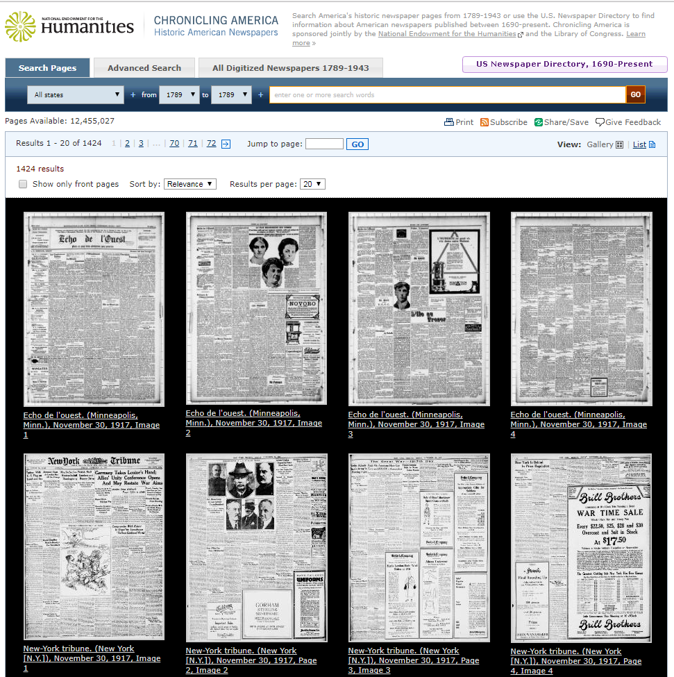 Teaching with Digital Archives