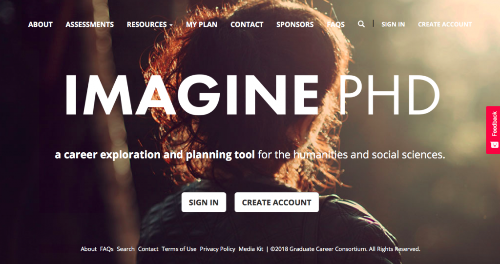 Exploring Career Possibilities with ImaginePhD