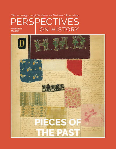 Perspectives on History May 2021 Cover