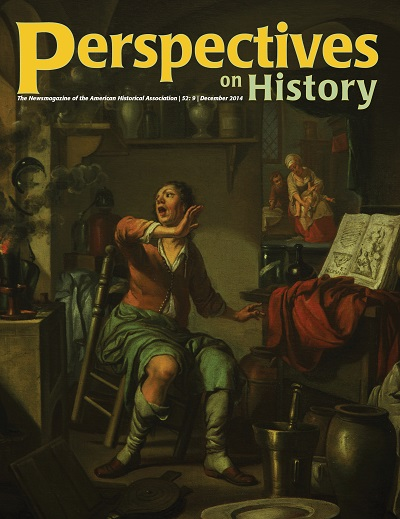 Perspectives on History December Cover