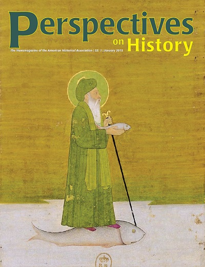 Perspectives on History January Cover