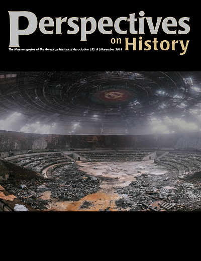Perspectives on History November Cover